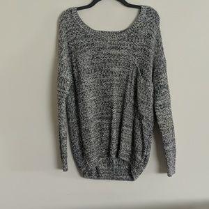 Garage oversized pullover sweater